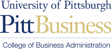 University of Pittsburgh: Pitt Business logo